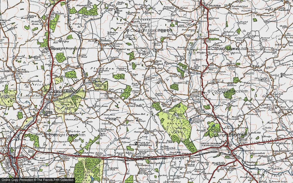 Woodgates End, 1919