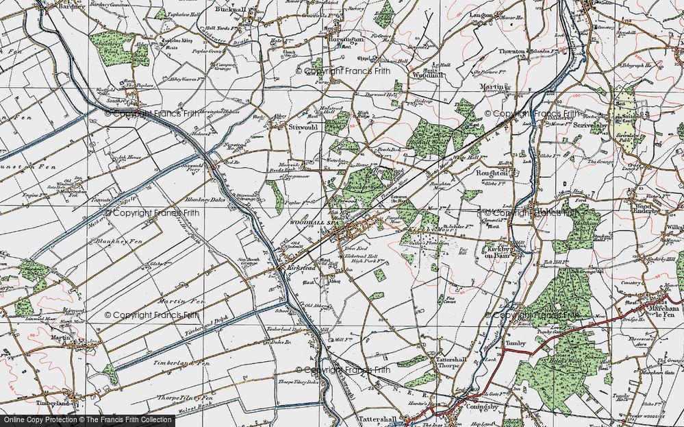 Woodhall Spa, 1923