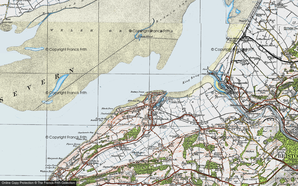 Old Map of Woodhill, 1919 in 1919