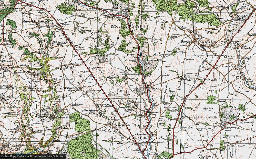 Woodmancote, 1919