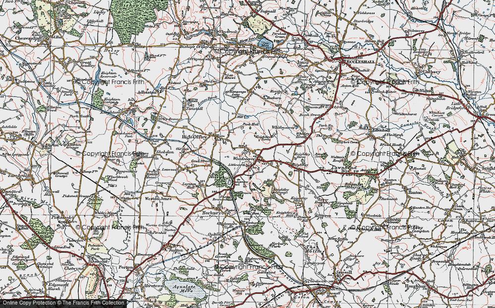 Woodseaves, 1921