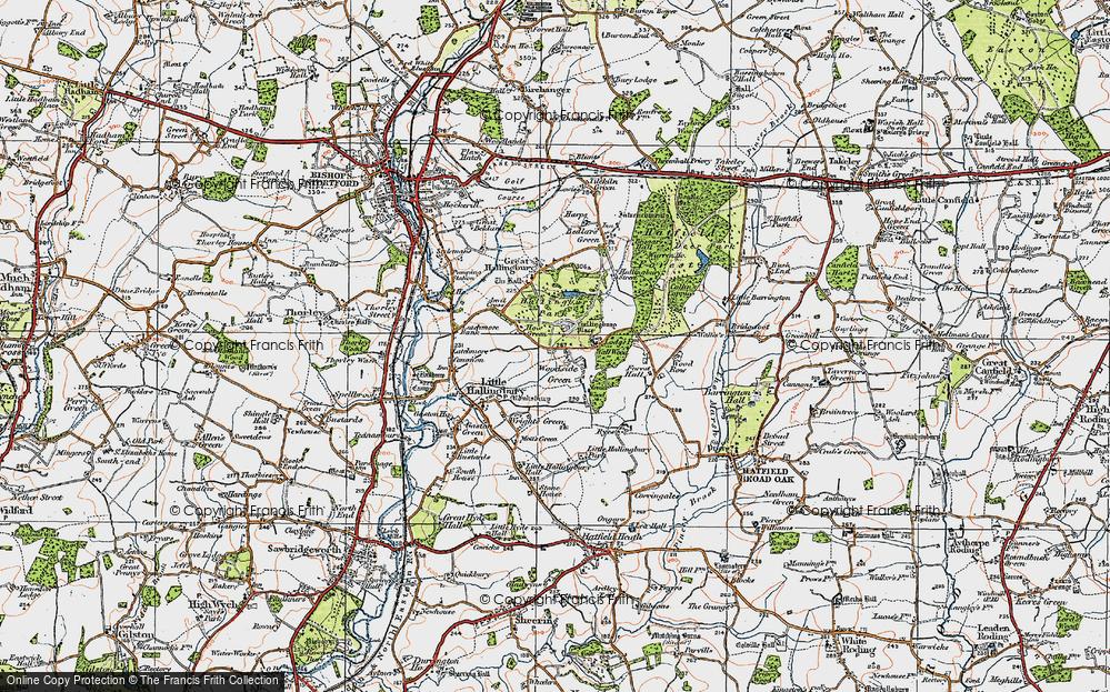 Woodside Green, 1919