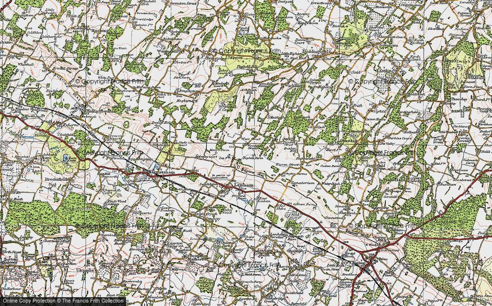 Woodside Green, 1921