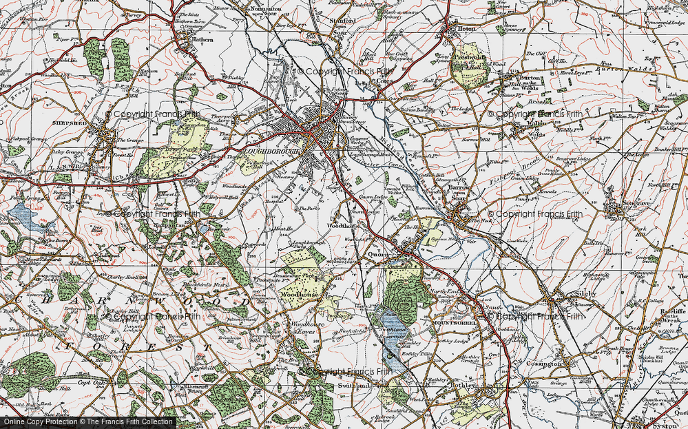Great Central Railway Map Old Maps of Great Central Railway   Francis Frith
