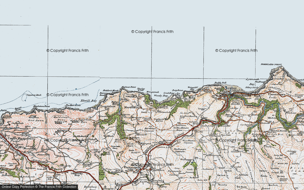 Woody Bay, 1919
