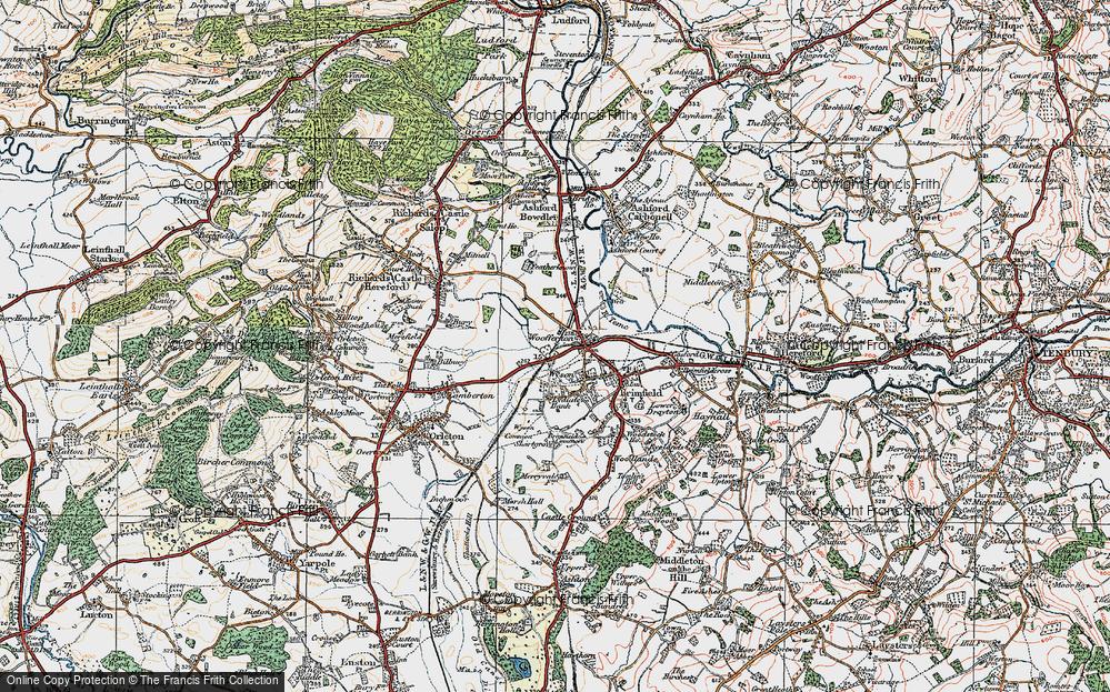 Woofferton, 1920