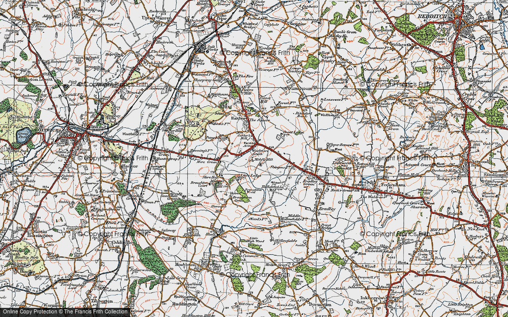 Woolmere Green, 1919
