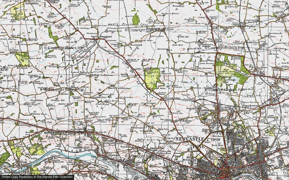 Woolsington, 1925