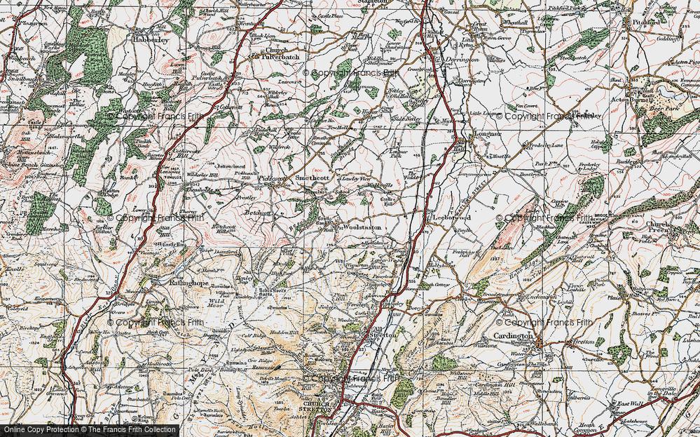 Woolstaston, 1921
