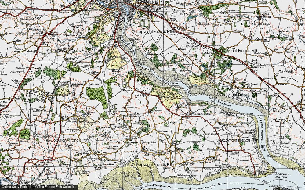 Woolverstone, 1921
