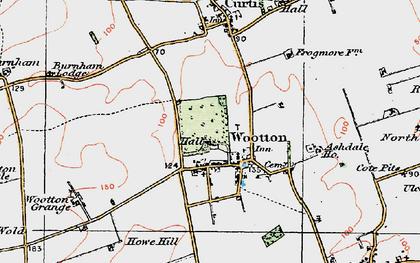 Old map of Ashdale Ho in 1924