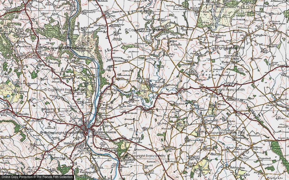 Worfield, 1921
