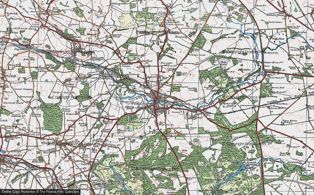 Worksop, 1923