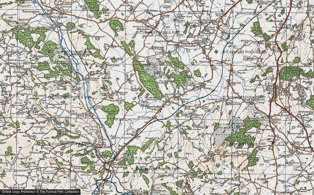Wormbridge Common, 1919