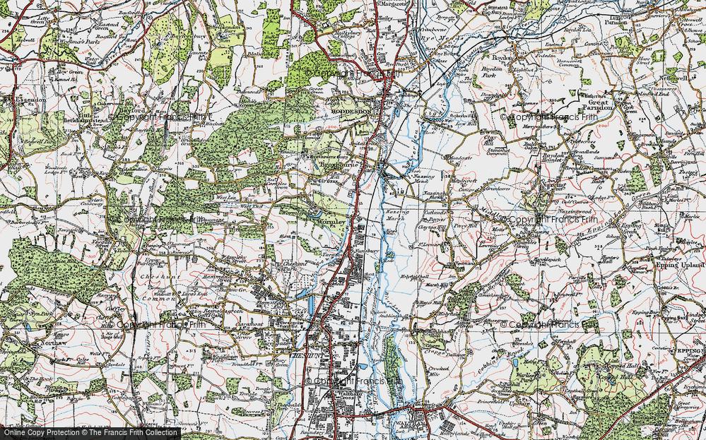 Wormleybury, 1920