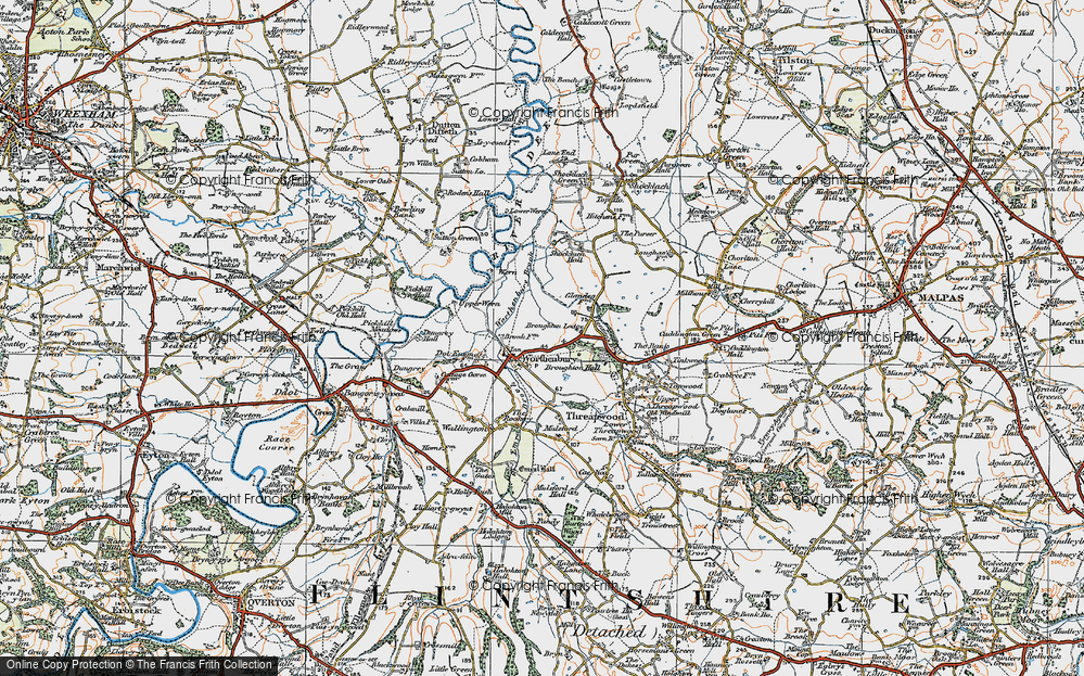 Worthenbury, 1921