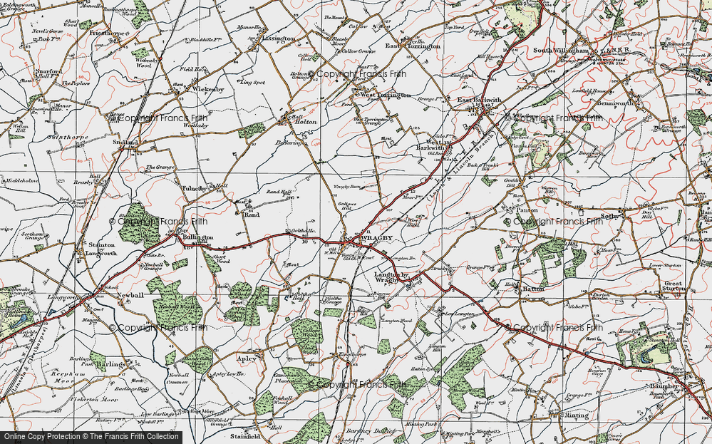 Wragby, 1923