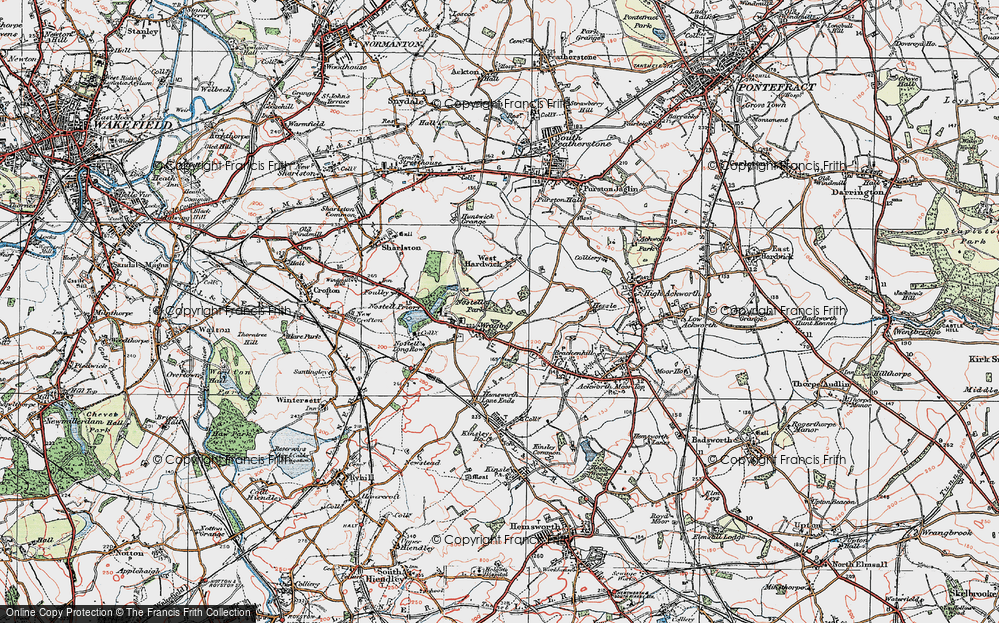 Wragby, 1925