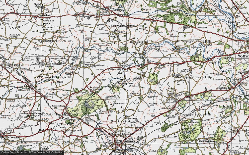 Wramplingham, 1922