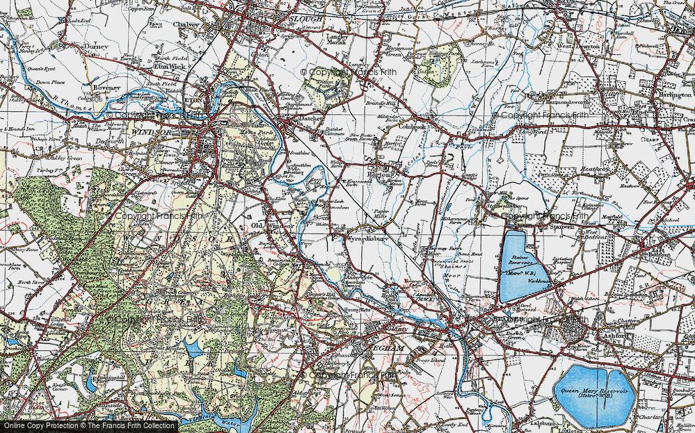 Wraysbury, 1920
