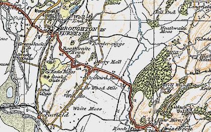 Old map of Wreaks End in 1925