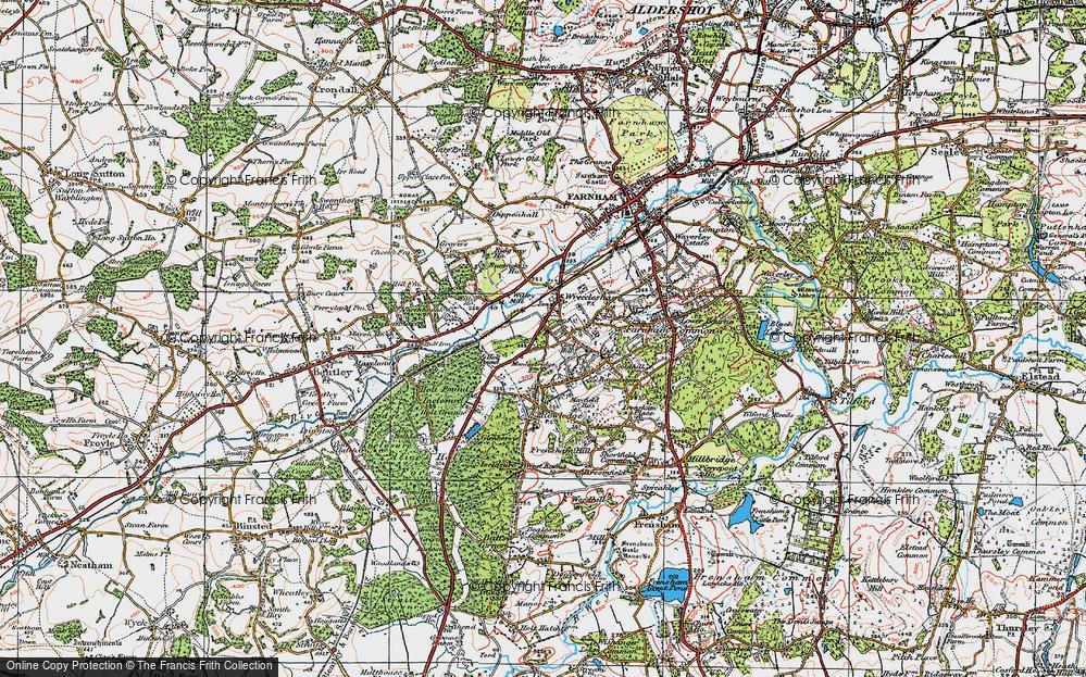 Wrecclesham, 1919