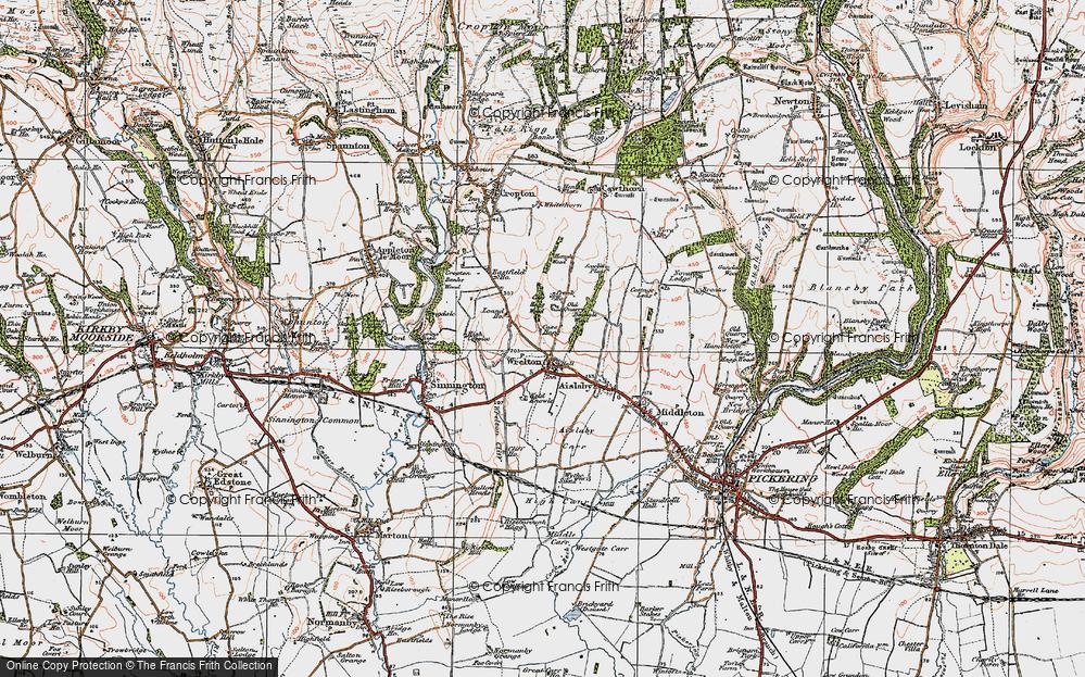 Wrelton, 1925