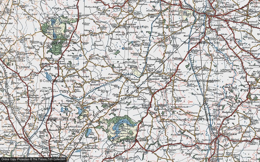 Wrenbury, 1921