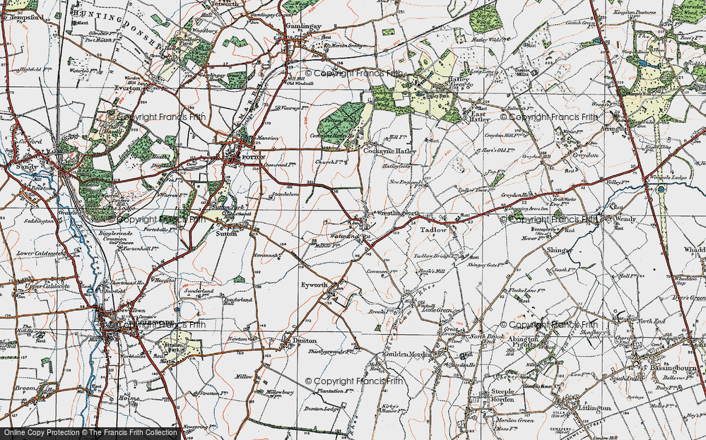 Wrestlingworth, 1919