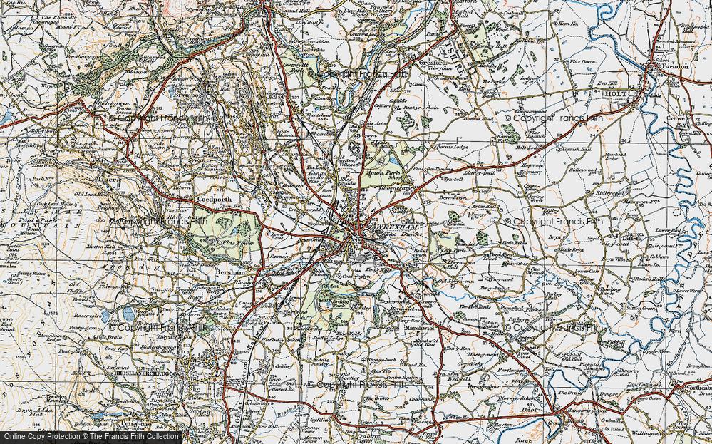 Wrexham, 1921