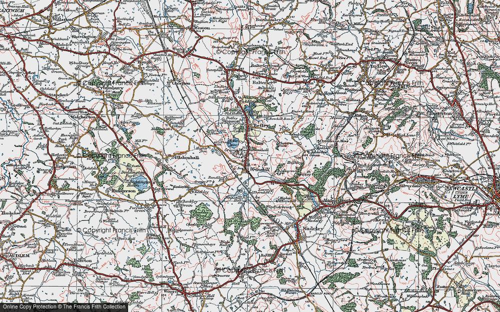 Wrinehill, 1921