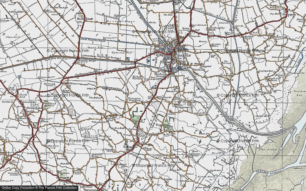 Wyberton, 1922