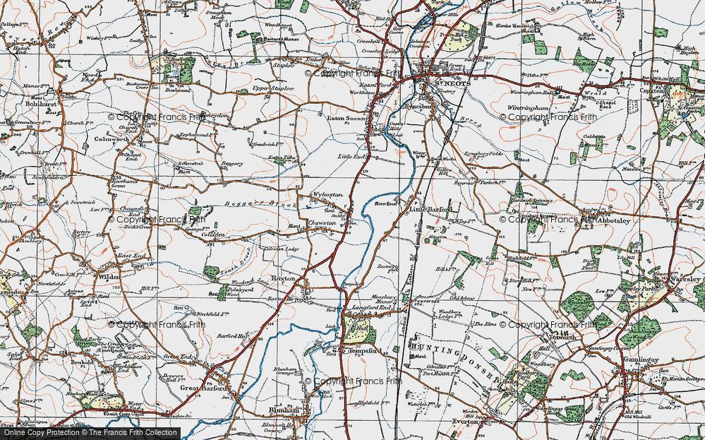Wyboston, 1919