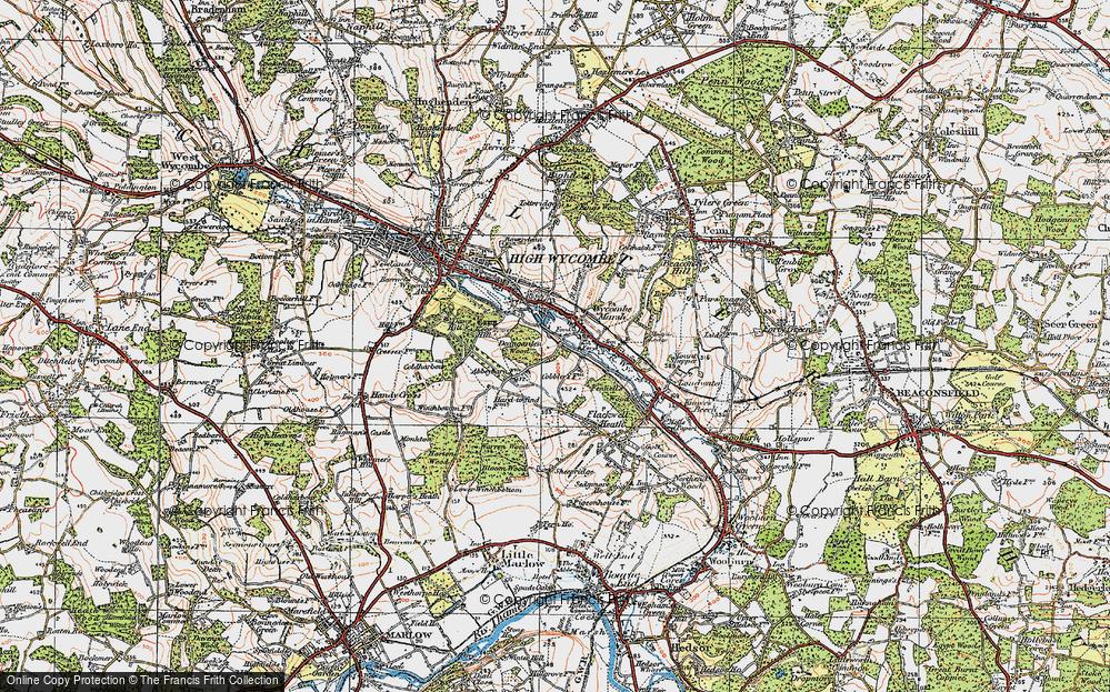 Wycombe Marsh, 1919