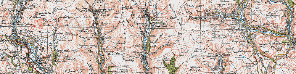Old map of Wyndham in 1922