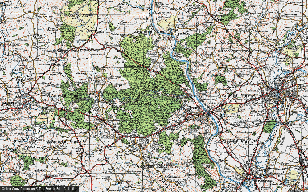 Wyre Forest, 1921