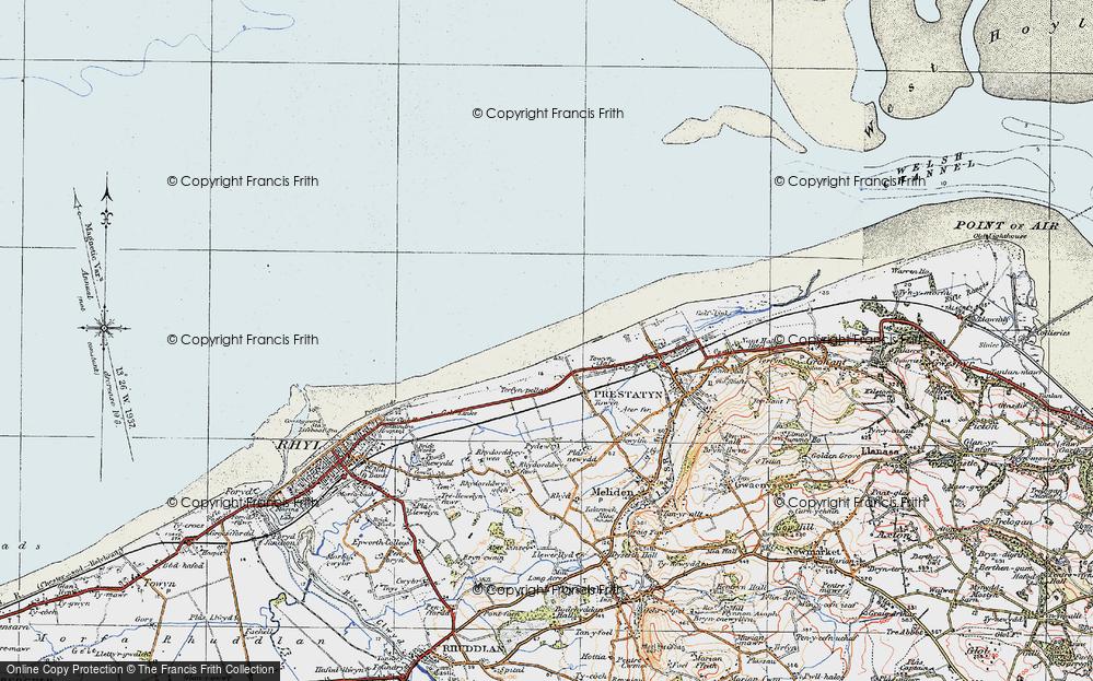 y-Ffrith, 1922