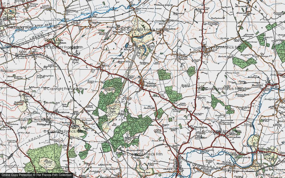 Yardley Hastings, 1919