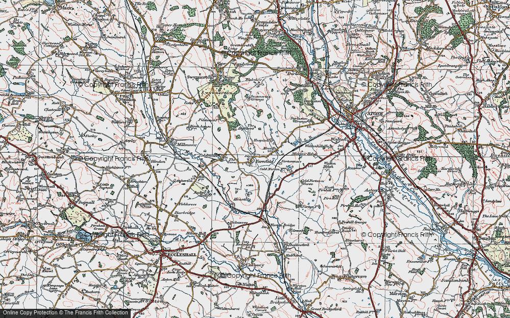 Yarnfield, 1921