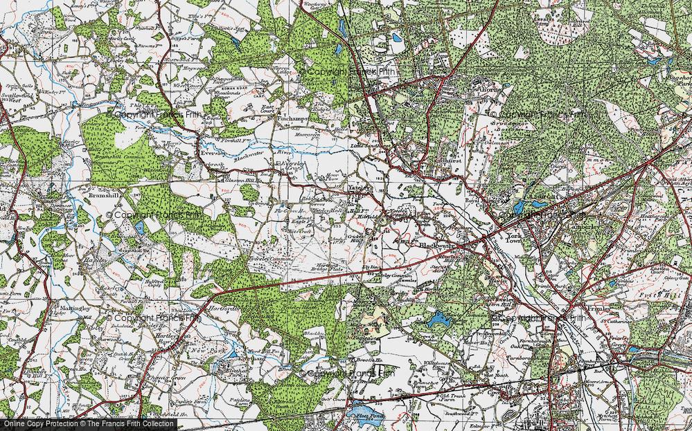 Yateley, 1919