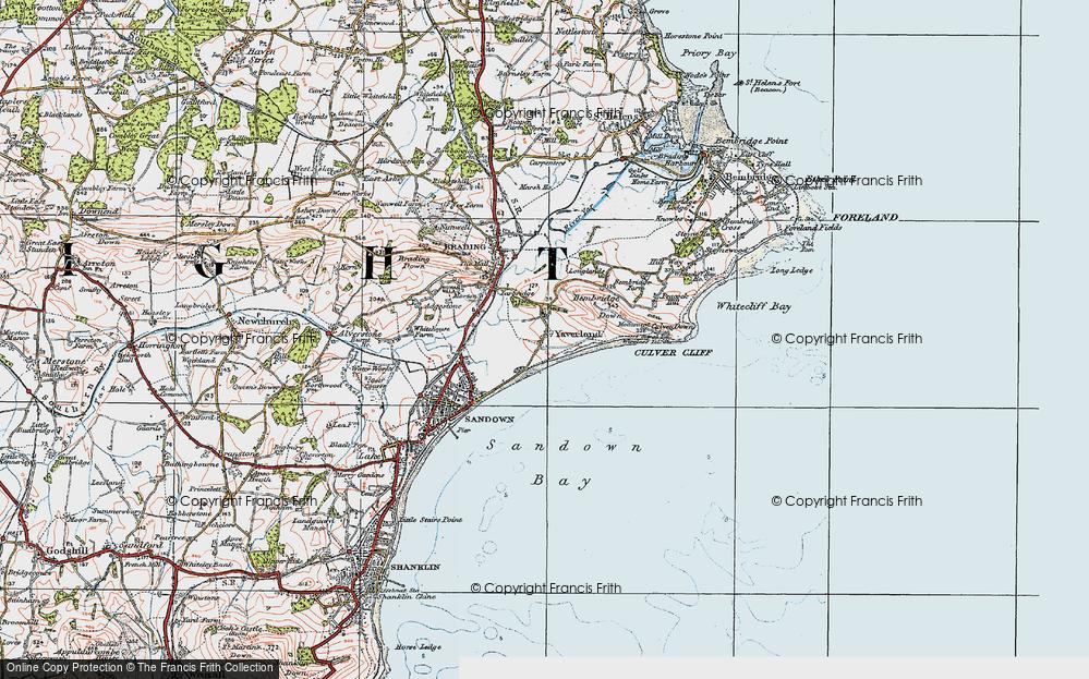 Yaverland, 1919