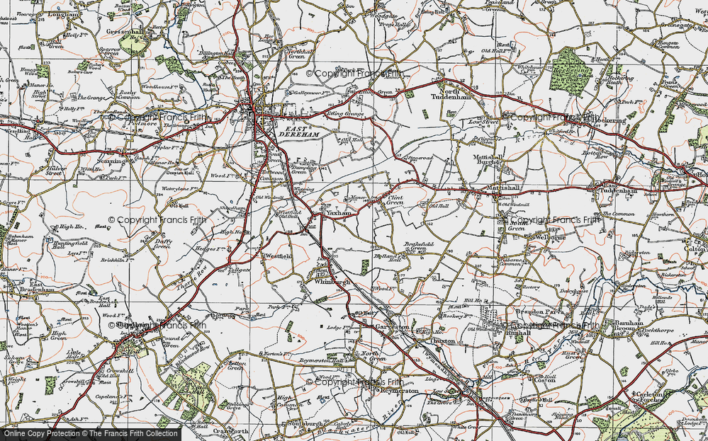 Yaxham, 1921