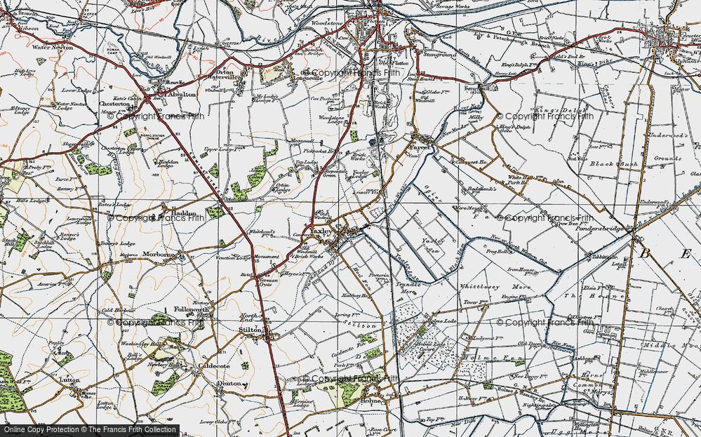 Yaxley, 1920