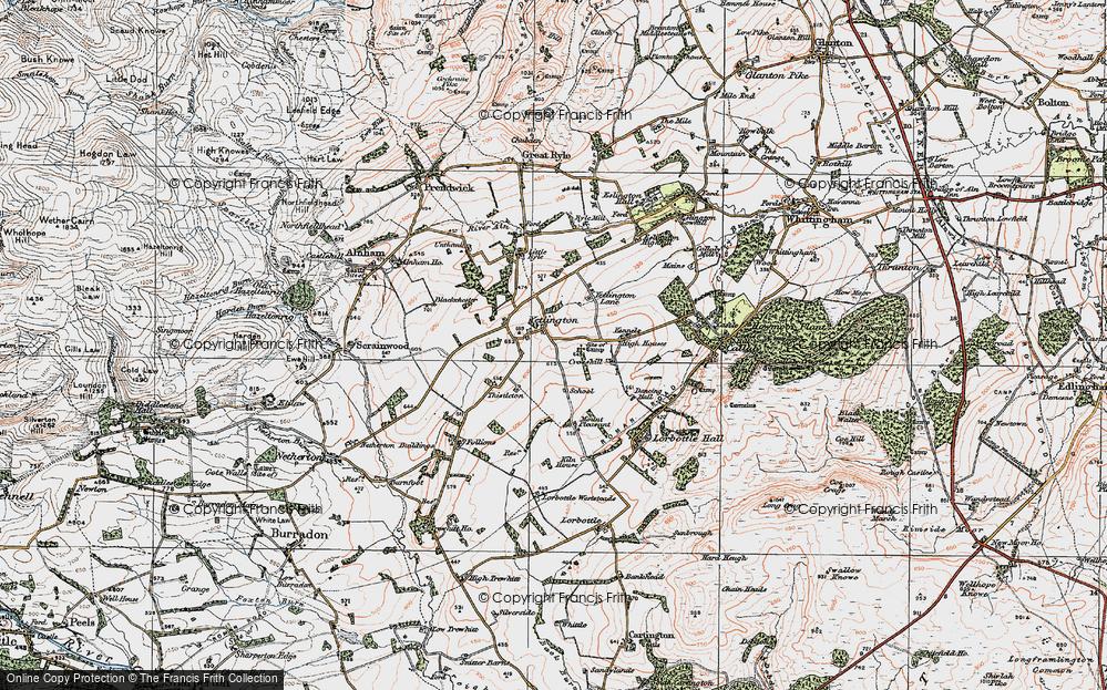 Yetlington, 1925