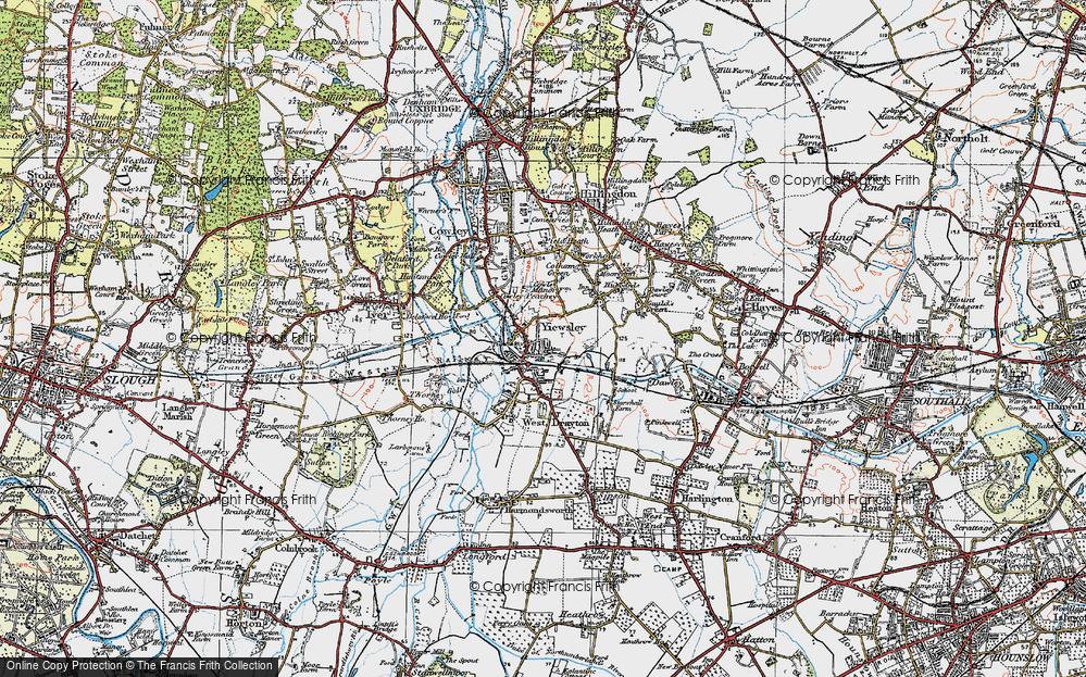 Yiewsley, 1920