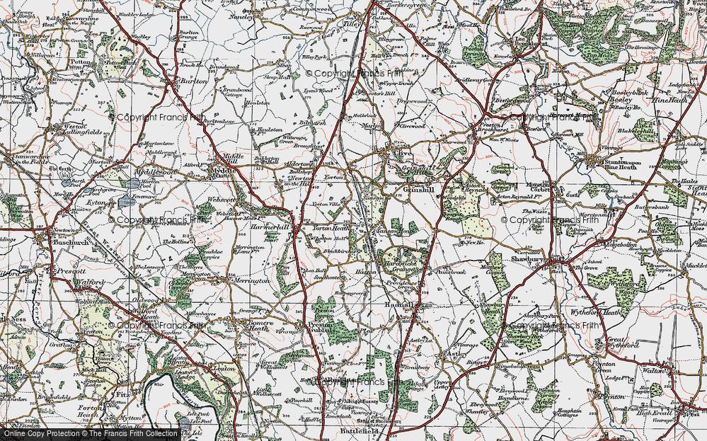 Yorton Heath, 1921