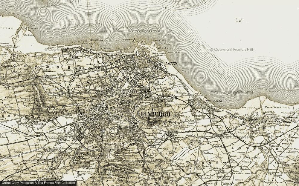 Abbeyhill, 1903-1906