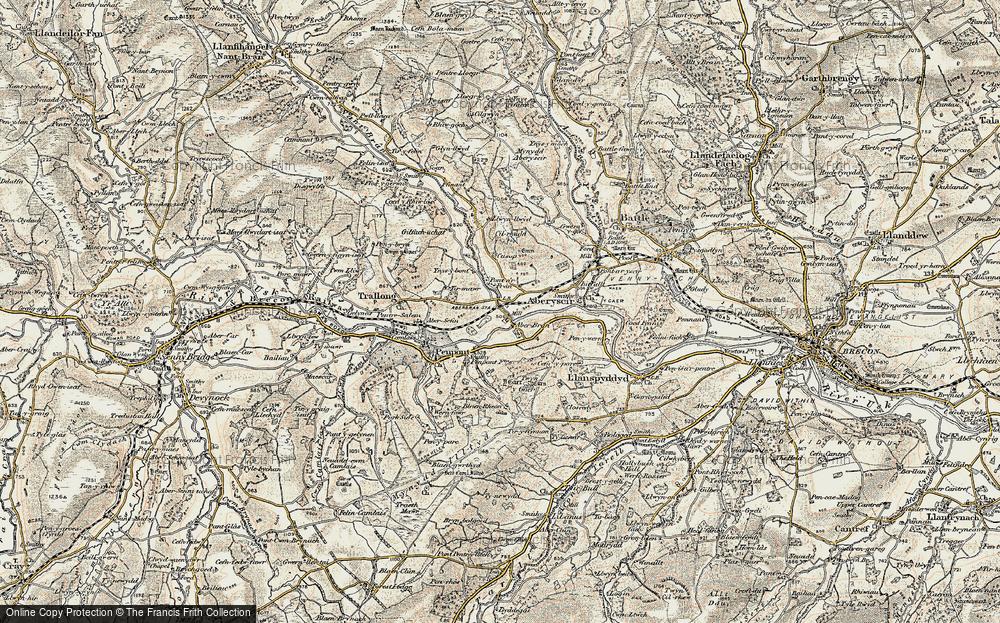 Aberbran, 1900-1901