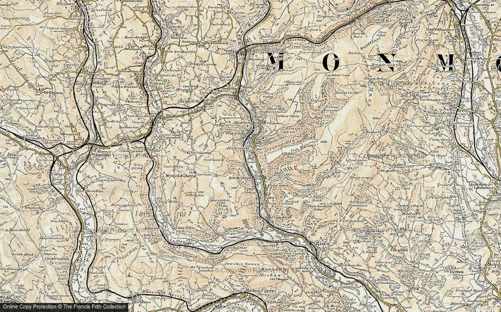 Abercarn, 1899-1900