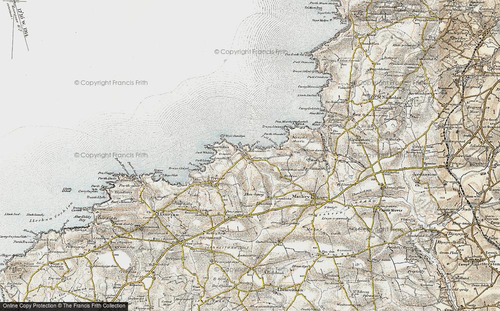 Abercastle, 0-1912